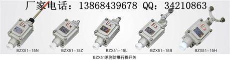 BZX51-15L防爆行程开关 BZX51-15N防爆行程开关 防爆限位开关 防爆位置开关