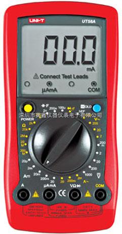 UT58A-优利德通用型数字万用表