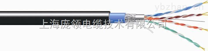 超五类 双屏蔽(铝箔+编织)双护套 以太网电缆