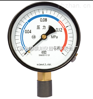 HC-HLVA-彈簧管壓力表