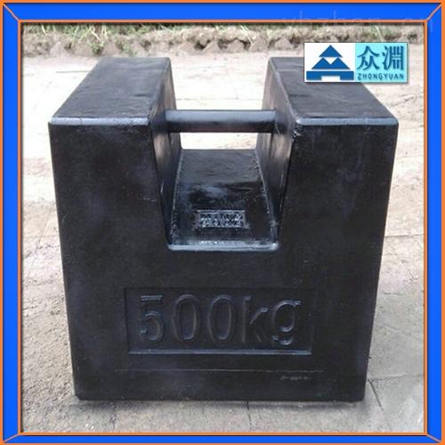 海南供应-1000kg锁式标准砝码1吨校吊秤砝码