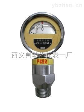 耐震不锈钢压力表,Y-60BFZ