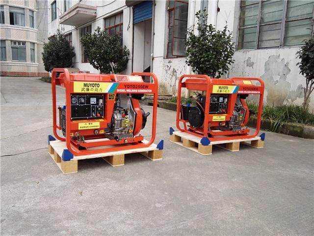 350A柴油发电电焊机-带发电电焊机
