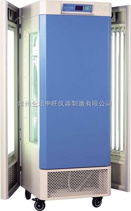 喷塑钢板外壳数显光照培养箱