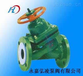 供应G45F46隔膜阀,衬氟直流式隔膜阀,直流式隔膜阀,隔膜阀厂