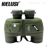 科鲁斯kelusi潜龙10x50防水望远镜带罗盘测距分划板高清微光正品