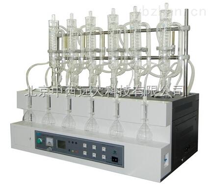 庫號:M182743-智能一體化蒸餾儀(按區域報價湖南湖北河南) 型號:ZXSTEHDB-106-3