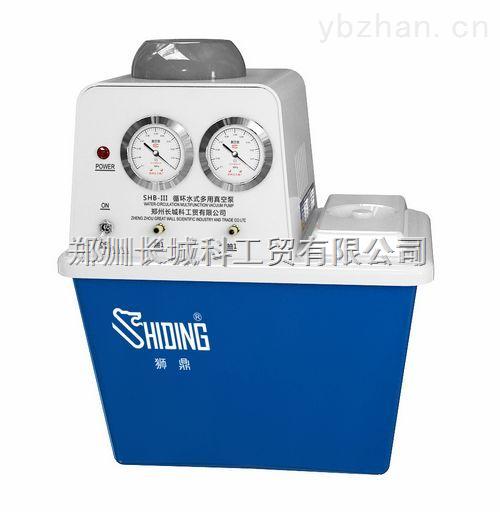 郑州SHB-III大学化学生物制药实验室用狮鼎台式水循环真空泵