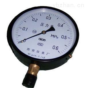 Y-40/Y-60-陜西彈簧管壓力表批發價格