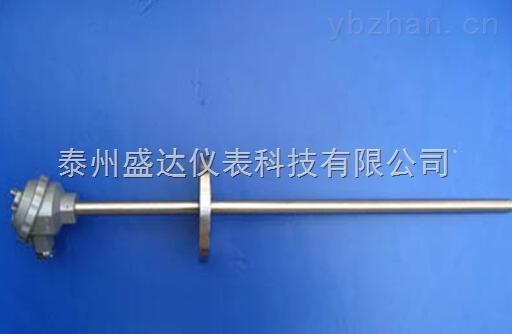 装配式PT100固定法兰热电阻WZP-430