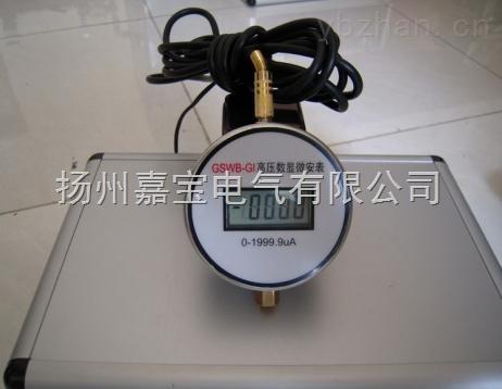 GSWB-GI高压数显直流微安表