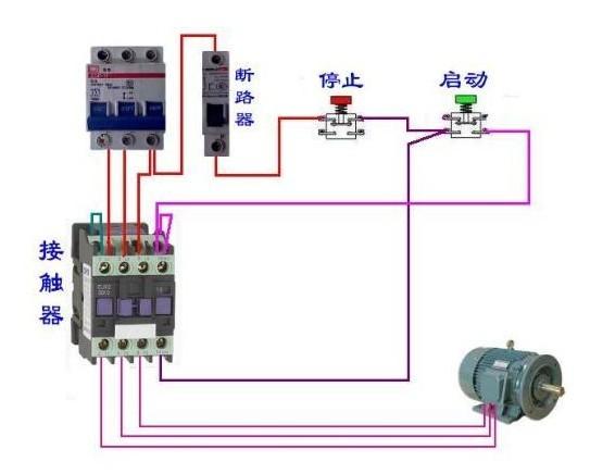 施耐德LC1-D65交流接触器接线图