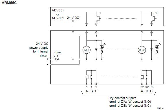 安全继电器原理图和接线图