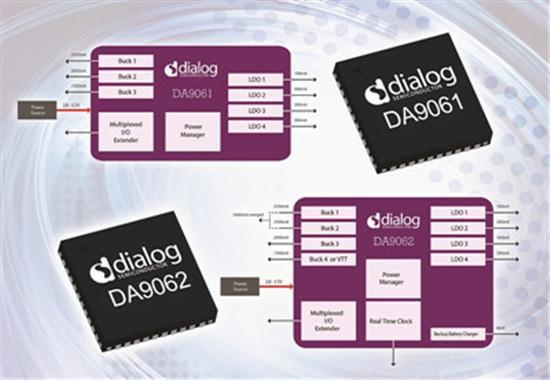 半导体公司dialog推出两款电源管理集成电路